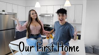 OUR NEW HOUSE TOUR! Jules & Saud