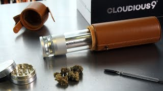 Hydrology9 Liquid Filtration Dry Herb Vaporizer From Cloudious9: Blazin' Gear Review
