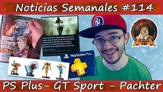 Noticias semanales #114 - Subida precio PS PLUS - GTA VI - Ubisoft - GT Sport - Dragon Quest XI