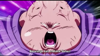 Buu Marah Karena Satan Terluka - Dragon Ball Super