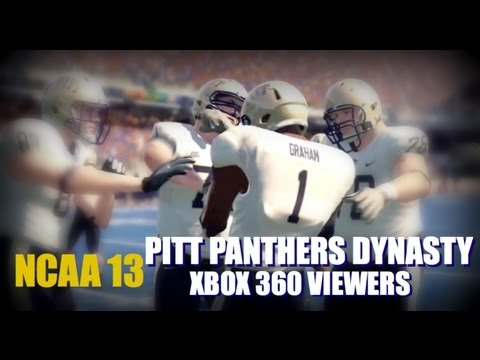 NCAA 13: SGU Xbox 360 Viewer Dynasty ft The Pittsburgh Panthers EP1