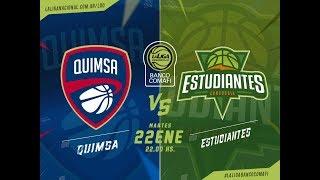LaLigadeDesarrollo 22.01.2019 Quimsa vs. Estudiantes de Concordia