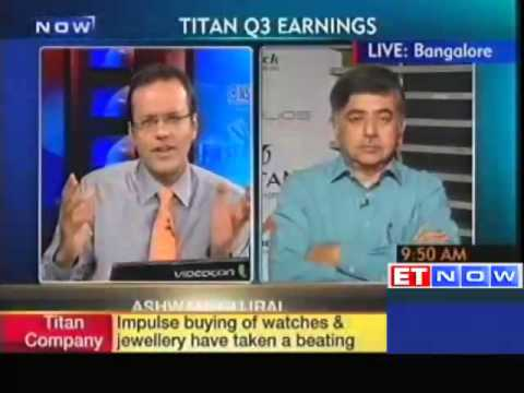 Titan Q3 net dips over 19% at Rs 165 crore