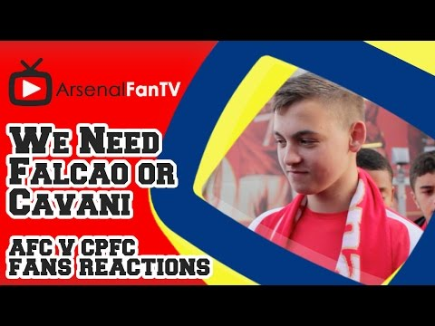 We Need Falcao or Cavani - Arsenal 2 Crystal Palace 1