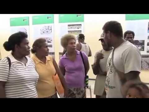 Blackbirding Exhibition - Solomon Islands National Museum 2014