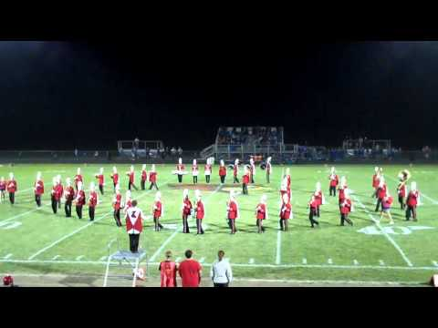 Pleasant Plains High School 2010 Field Show