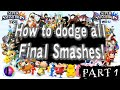 How to dodge all Final Smashes in Super Smash Bros for Wii U (Part 1)
