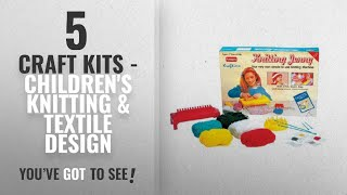 Craft Kits - Children'S Knitting & Textile Design [ Top 10 2018 ]: Funskool Knitting Jenny