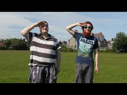 A message from Scotland to iceland