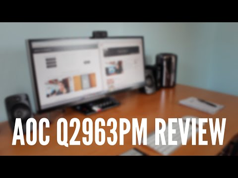 Review: AOC Q2963PM 21:9 SuperWide 29