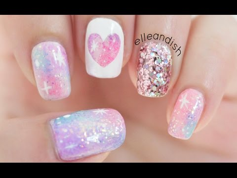 Pink Galaxy Nails Music Videos