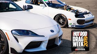 MKIV AND MKV Supras came to BATTLE! | Drag Week Day 1