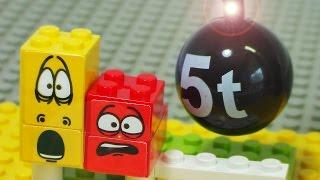 Stomp Larva house stop animation toy lego block 우당탕 라바 하우스 레고 장난감 블럭