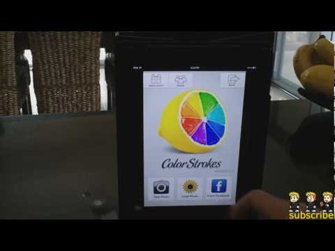 Color Strokes App Review for iPhone, iPod Touch and iPad