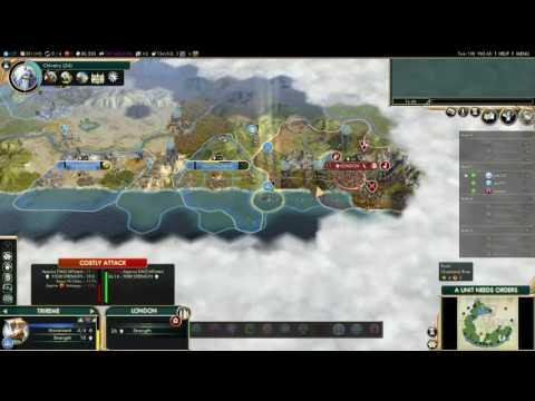 Civilization 5: France Conquers London
