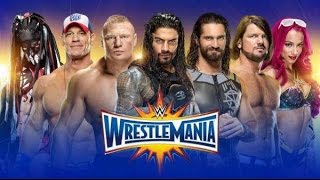 WWE WRESTLEMANIA 33 PREDICTIONS -TOP 10