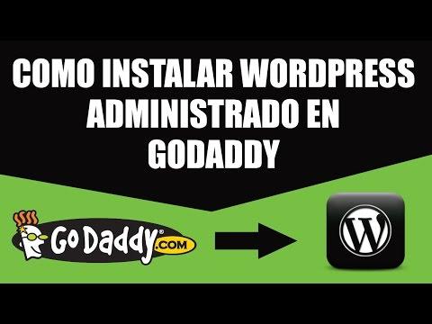 Como Instalar Wordpress Administrado en GoDaddy