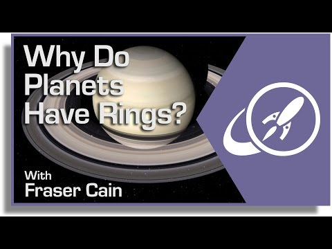 Why Do Planets Have Rings?