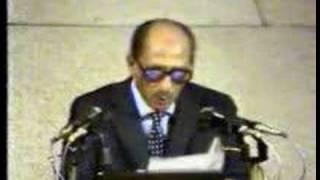 Anwar Assadat speech in the Israeli Knesset 1977 -- Part 3-3