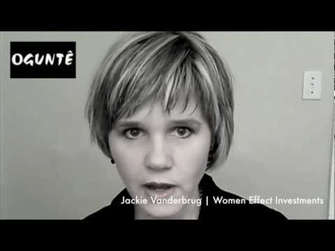 Jackie Vanderbrug | Women Effect Investments