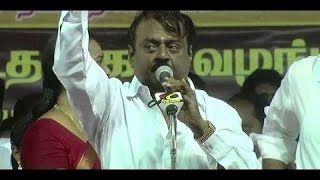 Vijayakanth's speech :about King or Kingmaker