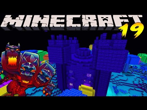 Minecraft Mods - MONSTERCRAFT - Ep # 19 THE HAUNTED HOUSE