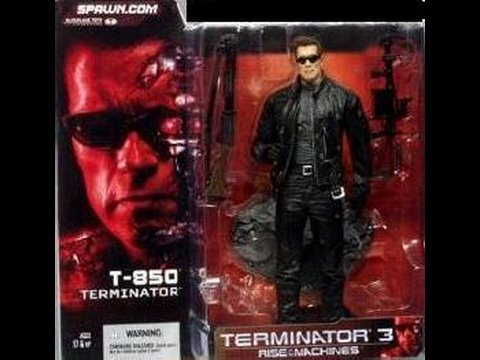 Terminator 3 Rise Of The Machines T-850 Movie Toy Review