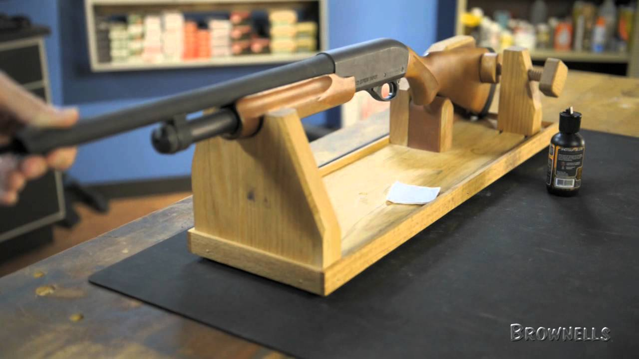 Wood Gun Cradle Plans