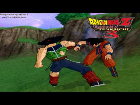 Dragon Ball Z Budokai Tenkaichi 3 Bardock vs. Goku (early) Duel on PC