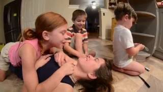 Wrestle Mom VS Kids
