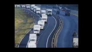 Что вывозят русские грузовики из Украины? / What steal Russian trucks from Ukraine?