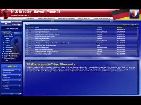 Series: Championship Manager 2010 (Episode 2) Bayern Munich