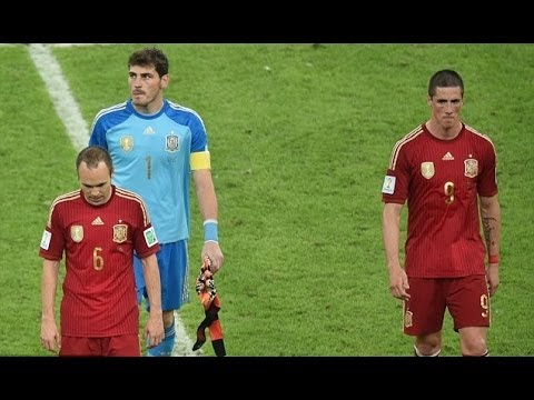 World Cup 2014 Spain's Tragedy (song and parody) Hun Subs