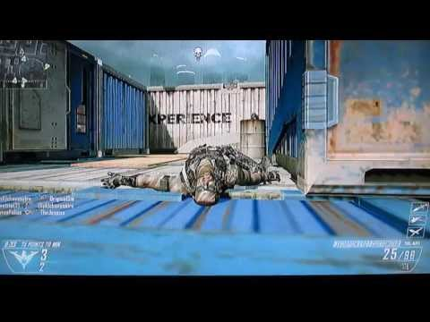 Black Ops 2 (Wii U) - Rushing On Cargo