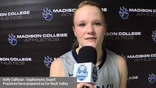 Kelly Calhoun ready for Rock Valley