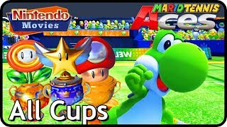Mario Tennis Aces - All Cups