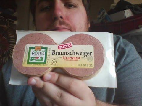 Liverwurst as well Duck Liver Recipe further Midwest Charcuterie Platter further Braunschweiger Sausage in addition Ham and braunschweiger pate. on liver pate recipe with braunschweiger