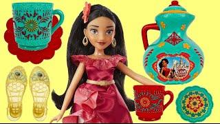 Disney Princess Elena of Avalor TEA PARTY & Coronation Accessory Play Set