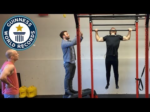 Most pull-ups in one minute - Guinness World Records