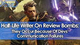Half-Life Writer Says Review Bombs Are Result of Devs' Communication Failures