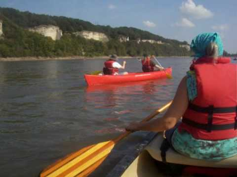 Missouri River Float Trips. Guided Canoe and Kayak Tours in Central Missouri.