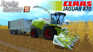 Farming Simulator 15 CLAAS JAGUAR 870 Harvester