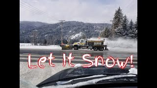 Snow Plow Truck Works AWESOME! (Let It Snow!)