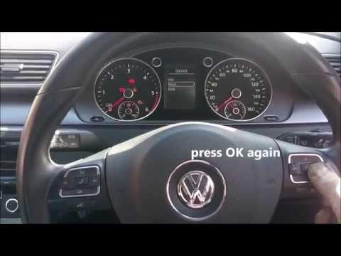 How to reset service light on your Volkswagen Passat | 2010 | 2011 | 2012 | 2013 | 2014 |