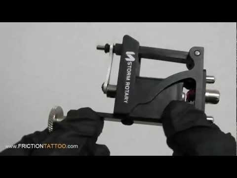 STORM a-100 ROTARY TATTOO MACHINE REVIEW