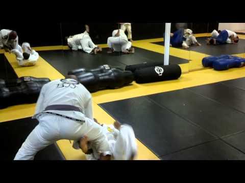 Jiu Jitsu Training July 2013 Video 1