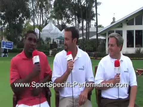 Chargers' Quentin Jammer and NFL QB Mark Rypien talk with Sport Specific Performance