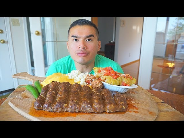 Vietnamese Guy Cook ROMANIAN FOOD  RECIPE  MUKBANG  QT
