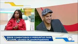 Luane explica briga com Nadja durante votação