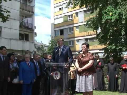 Крест над Европой. Выпуск от 30 июня. Открытие памятника императору Николаю II в Сербии